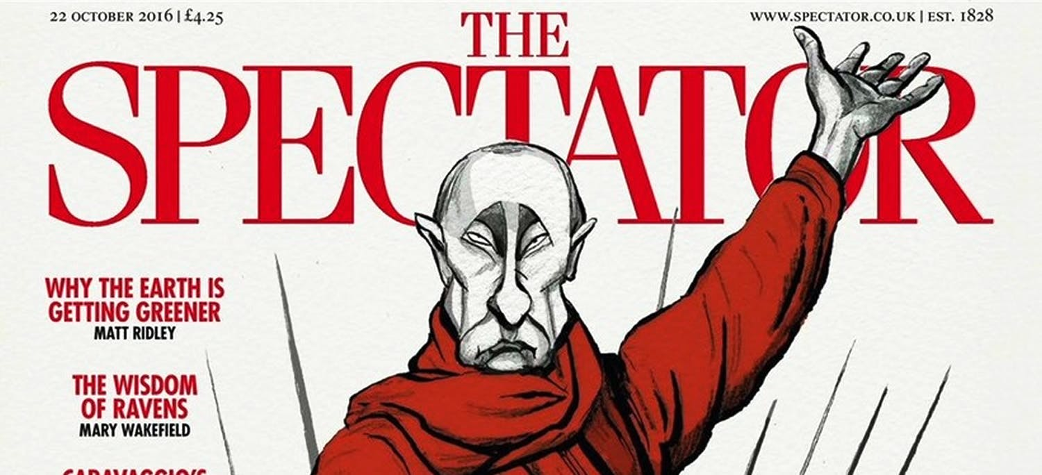 Front cover of The Spectator