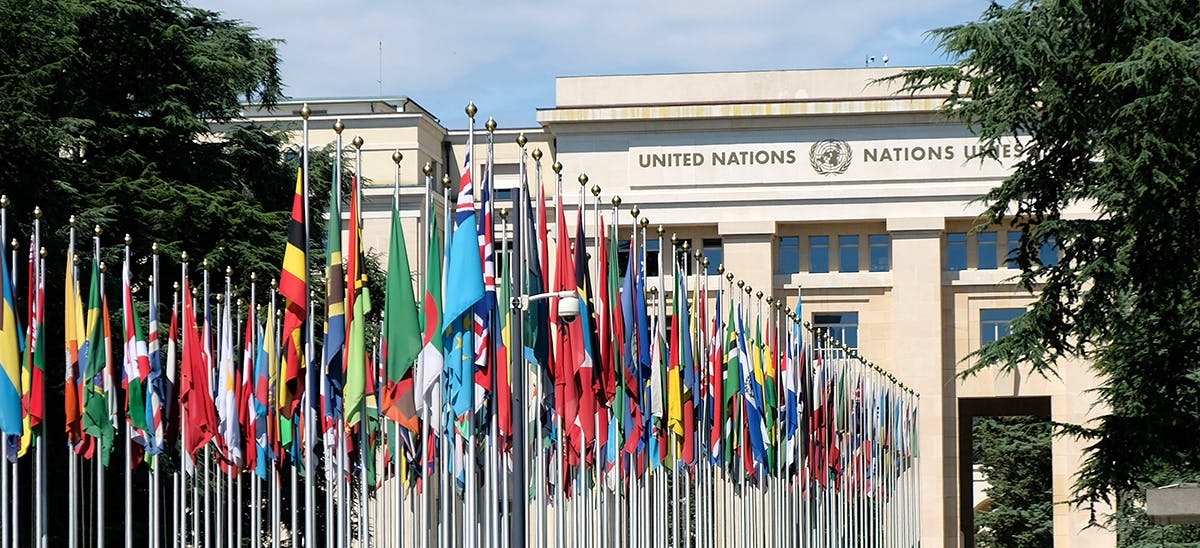 Image of the UN HQ in Geneva