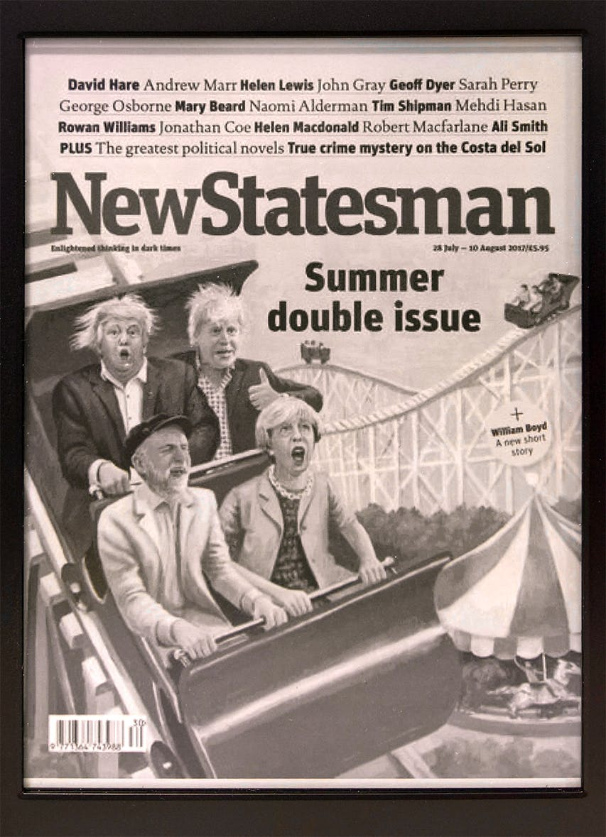 The New Statesman Kindle cover